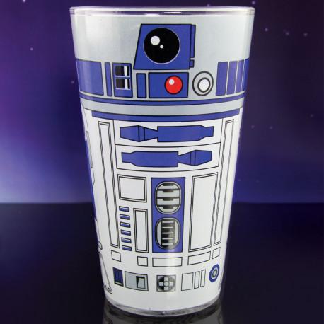 Clin d'œil au droïde R2-D2, ce maxi verre Star Wars d'un demi-litre va vous faire pencher du bon côté de la Force