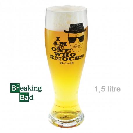 Un verre à bière Breaking Bad