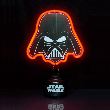 Lampe néon rouge Dark Vador