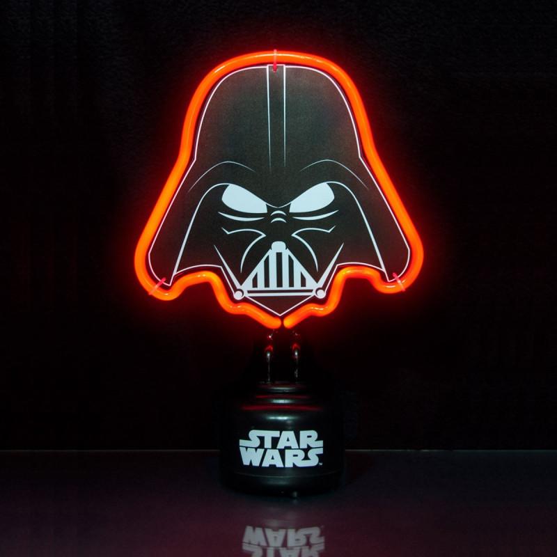 lampe n on star wars l 39 effigie de dark vador sur logeekdesign. Black Bedroom Furniture Sets. Home Design Ideas