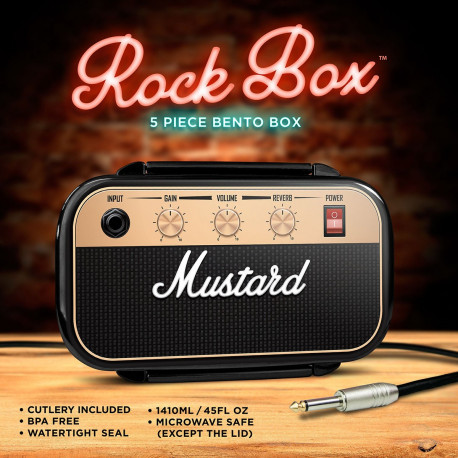 Lunch Box Ampli Rock
