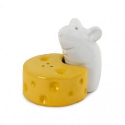 Salière et Poivrière I Love Cheese