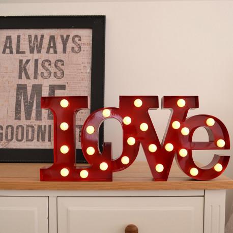 Lampe Love Design