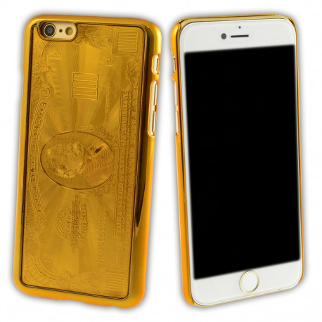 Coque Gold iPhone 6 - 1000 Dollars