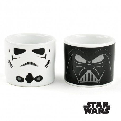 Coquetiers Star Wars Dark Vador et Stormtrooper