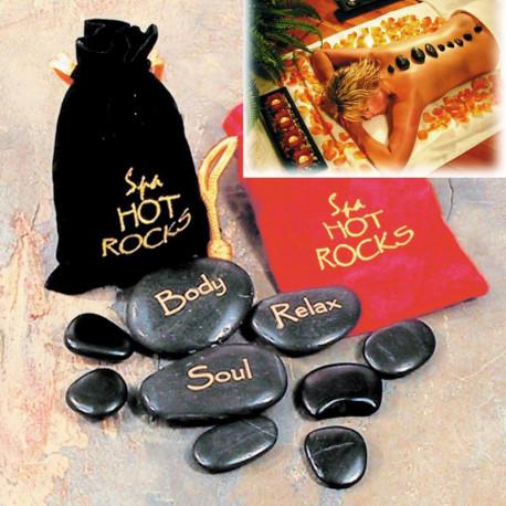 Accordez-vous un espace de pur bien-être avec ce coffret de massage aux pierres chaudes