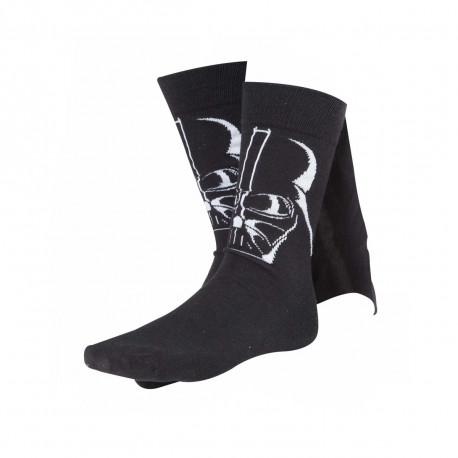Chaussettes avec cape intégrée à l'effigie de Dark Vador dans Star Wars