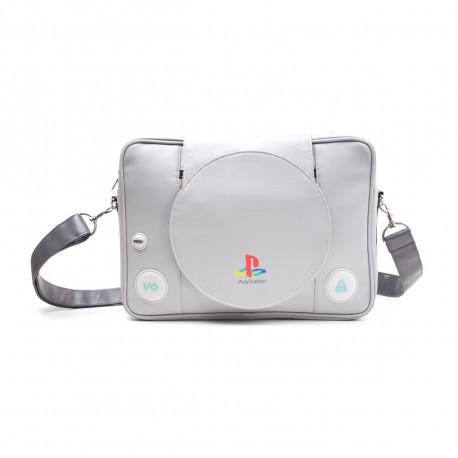 un sac à bandoulière reproduisant une Playstation dans les moindres détails