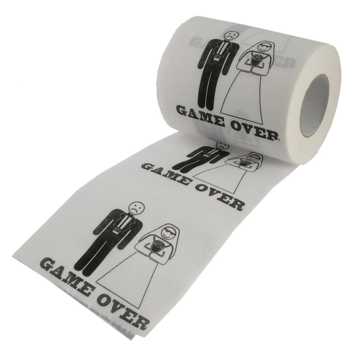 cadeau de mariage papier toilette humoristique pour couple sur logeekdesign. Black Bedroom Furniture Sets. Home Design Ideas