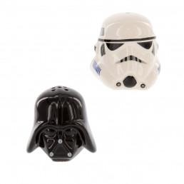 Salière et Poivrière Star Wars - Dark Vador et Stormtrooper