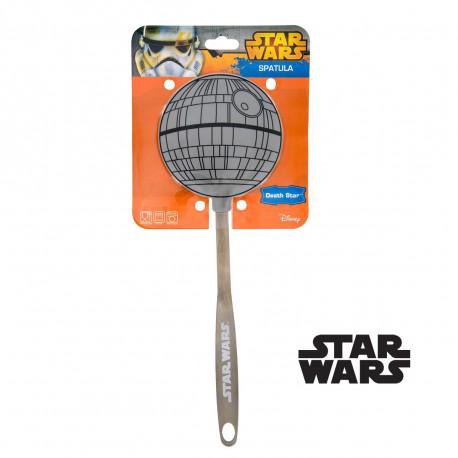 Accessoire de cuisine Star Wars du côté obscur de la Force, cette spatule à l'effigie de l'Etoile de la Mort