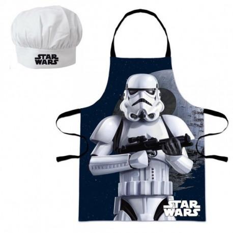 Set Petit Chef Star Wars Stormtrooper - Tablier et Toque