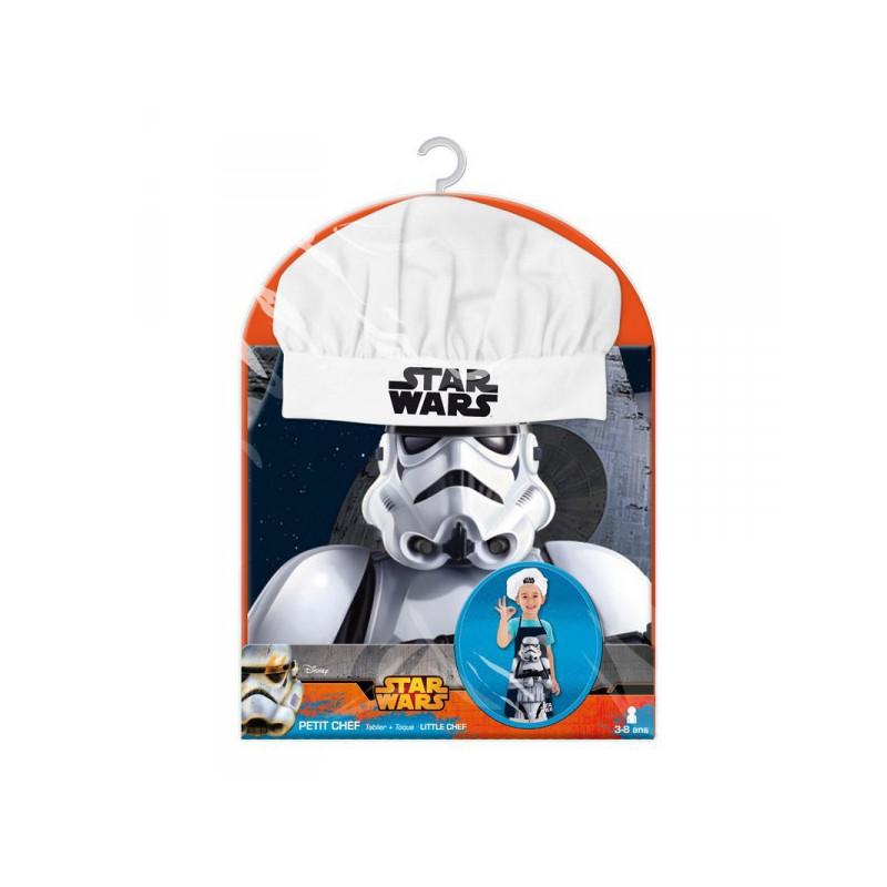 Tablier de cuisine enfant star wars avec toque sur for Tablier de cuisine star wars