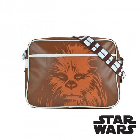 sacoche à bandoulière Star Wars mettant à l'honneur le plus célèbre d''entre eux : Chewbacca