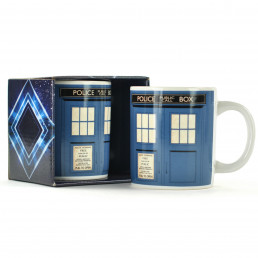 Mug Tardis Dr Who 50ème Anniversaire
