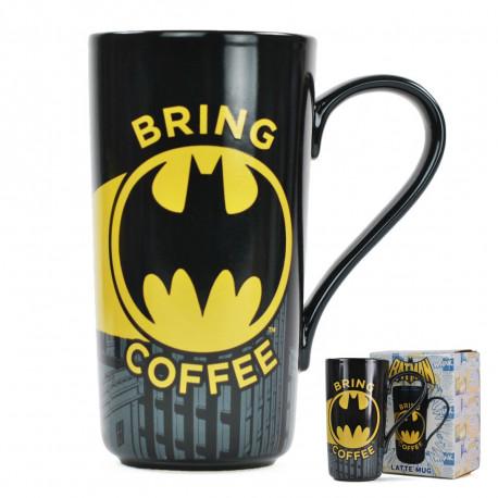 cette chouette tasse géante Batman chauve-souris en céramique