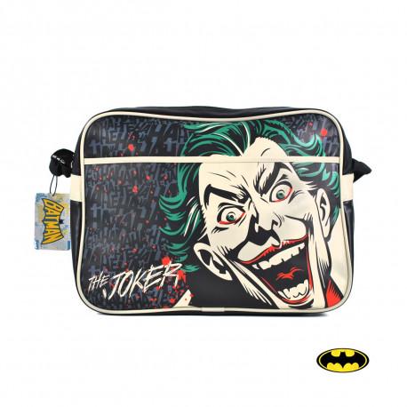 Retrouvez l'univers du terrifiant Joker en adoptant ce sac à bandoulière hautement geek