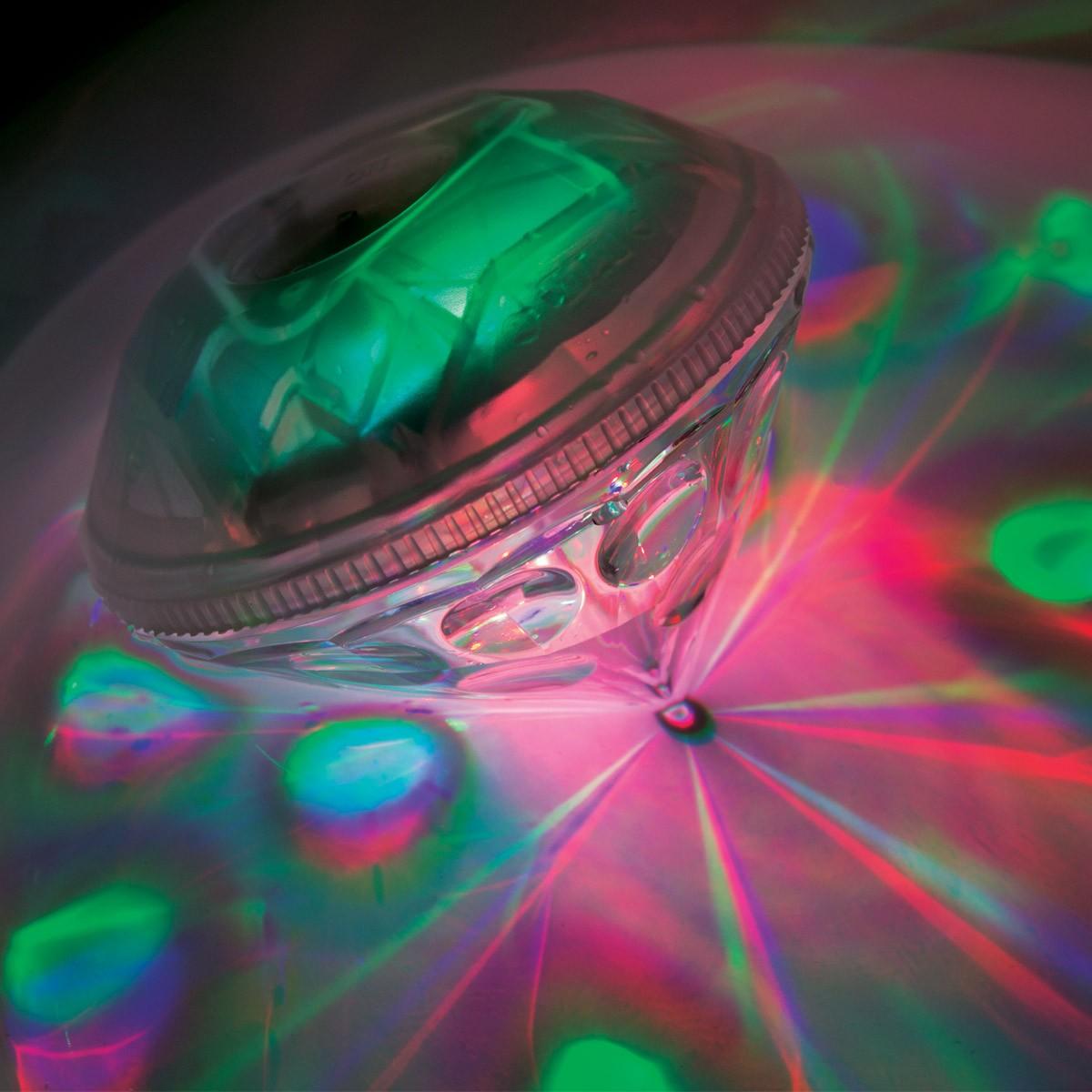 Lumi re disco pour le bain diamant de bain disco sur for Lumiere pour le bain
