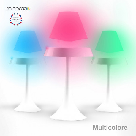 Une lampe en lévitation althuria rainbow