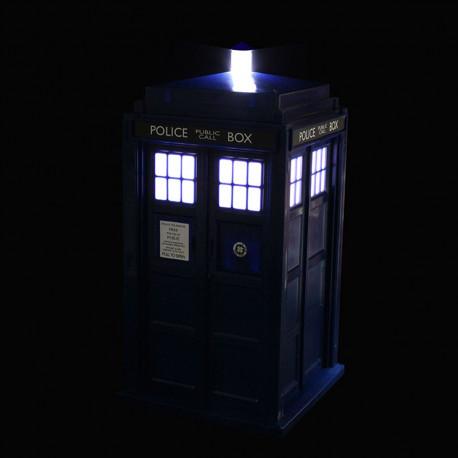Exterminez les mauvaises ondes dans la chambre de votre enfant avec cette veilleuse Doctor Who ultra geek