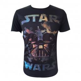 T-Shirt Dark Vador Star Wars Nébuleux