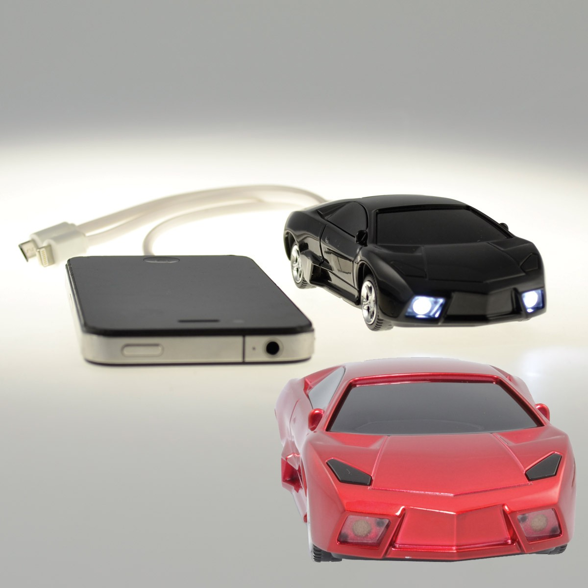 batterie de secours usb en forme de voiture de course sur. Black Bedroom Furniture Sets. Home Design Ideas