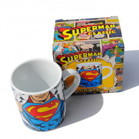 Photo de la tasse à expresso Superman