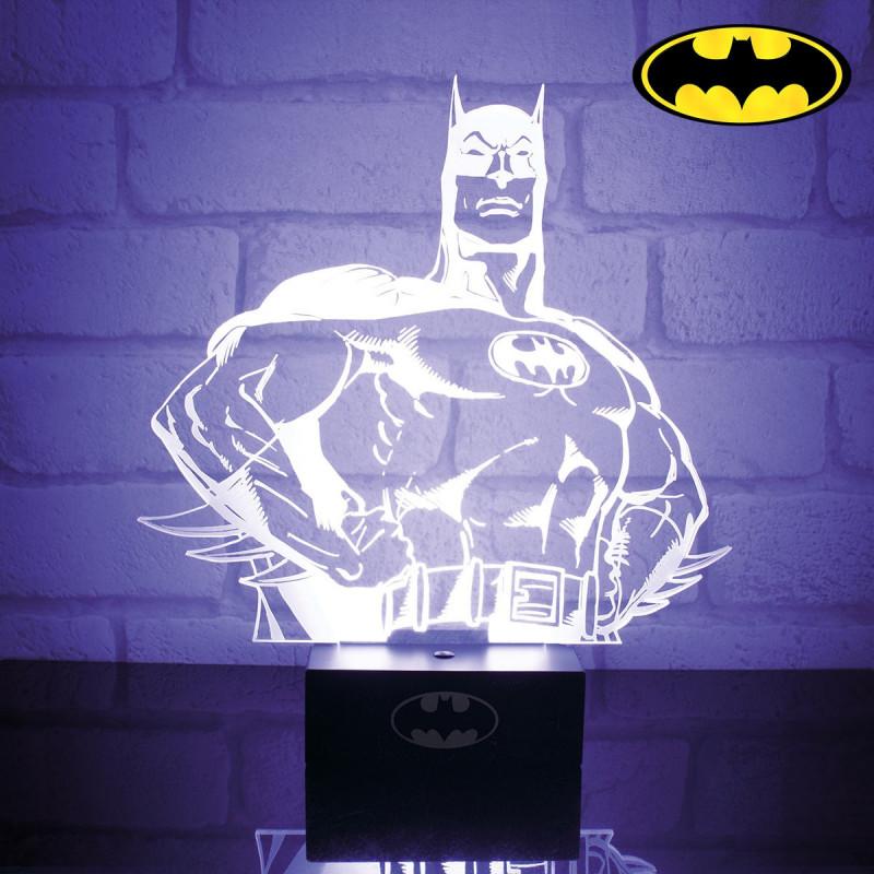 Lampe Batman Lampe De Chevet Design En Forme De Batman Sur