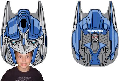 Perruque Transformers Optimus Prime