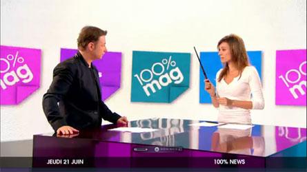 emission M6 100% mag 21 juin 2012
