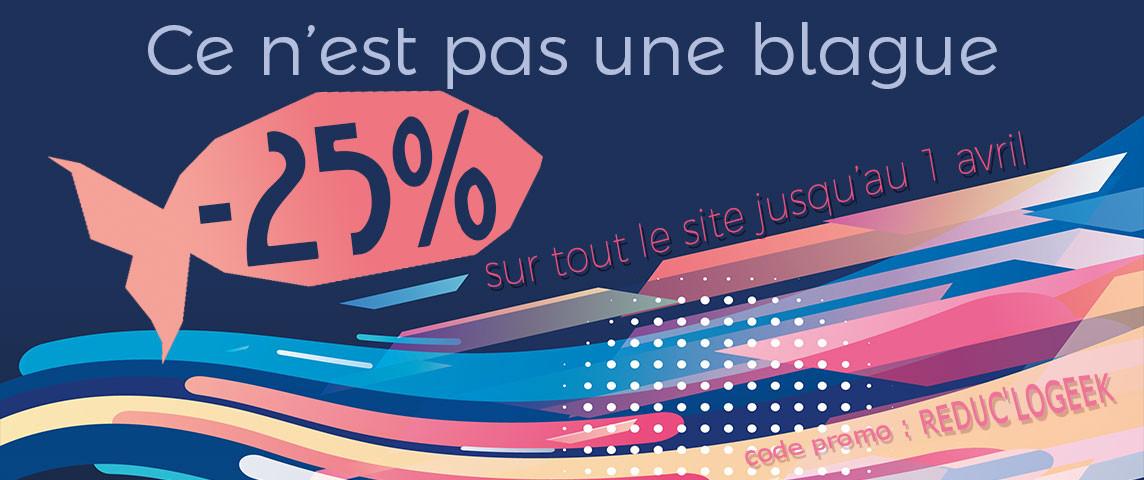 -25% sur tous les articles du site !